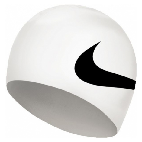 Nike BIG SWOOSH bílá - Plavecká čepice