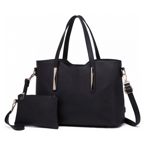 Černý dámský kabelkový set 2v1 Triel Lulu Bags