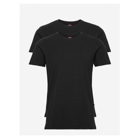 2PACK pánské tričko Levis Crew-neck černé (905055001 884) Levi´s