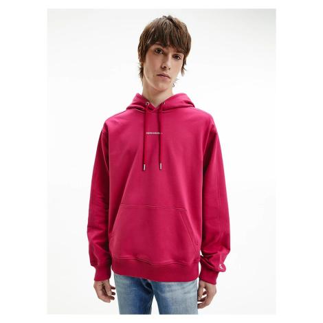 Calvin Klein pánská růžová mikina
