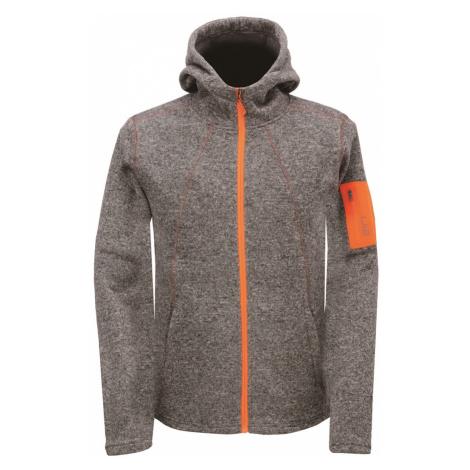 2117 of Sweden ASPEBODA pánská fleecová bunda s kapucí Barva: tmavě šedá