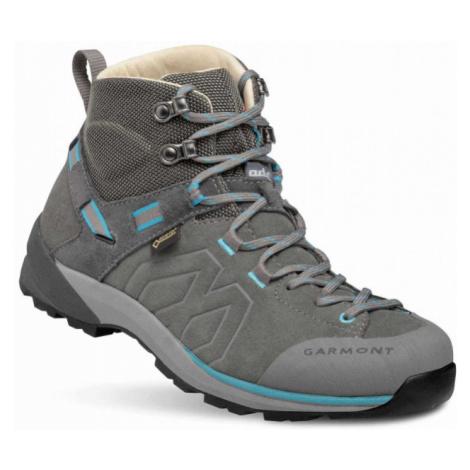 Dámské boty GARMONT Santiago GTX WMS grey/turquoise