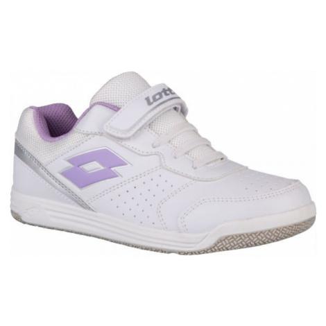 Lotto SET ACE XII CL SL bílá - Dětská volnočasová obuv