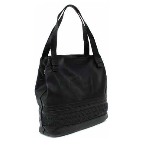 Černá moderní dámská kabelka Aiglentina Mahel