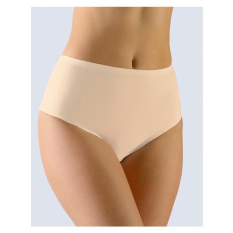GINA Dámské kalhotky klasické v nadměrných velikostech 11063-LBH tělová