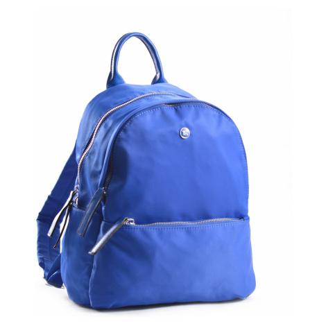 Bright Elegantní dámský batoh větší A5 vybavený královsky modrý, 26 x 12 x 31 (BR18-W117-1618-11