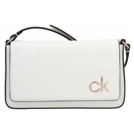 Dámská crossbody kabelka Calvin Klein Brian - bílá