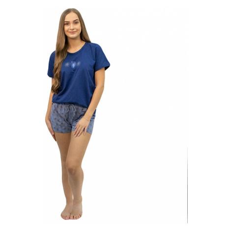 Dámské pyžamo Gina tmavě modré (19106)
