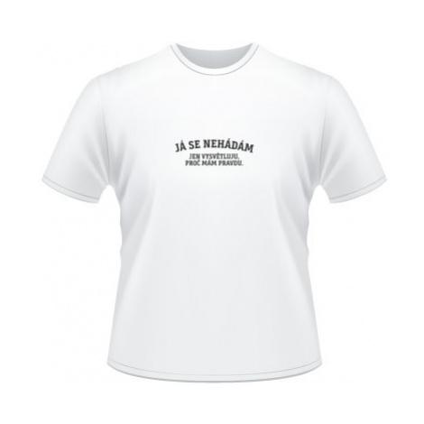 Pánské tričko na tělo Já se nehádám