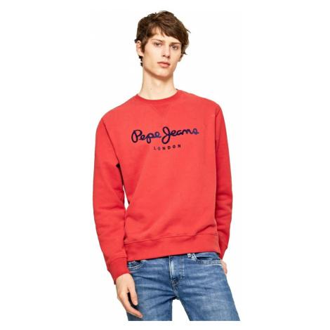 Pepe Jeans pánská červená mikina Albert