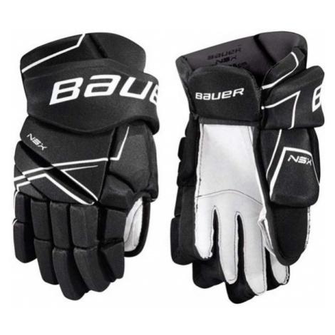 Bauer NSX GLOVES SR černá - Hokejové rukavice