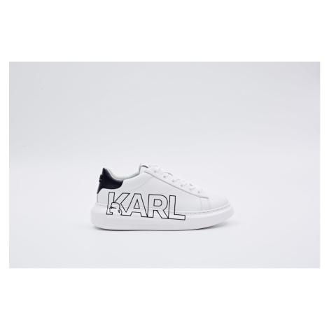 Tenisky Karl Lagerfeld Kapri Karl Outline Logo - Bílá