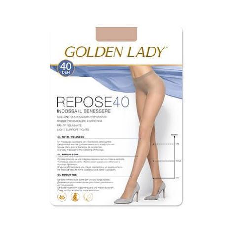 Dámské punčochové kalhoty Golden Lady Repose 6-2XL 40 den odstín béžové