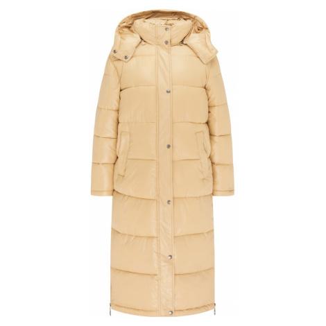 MYMO Zimní kabát písková