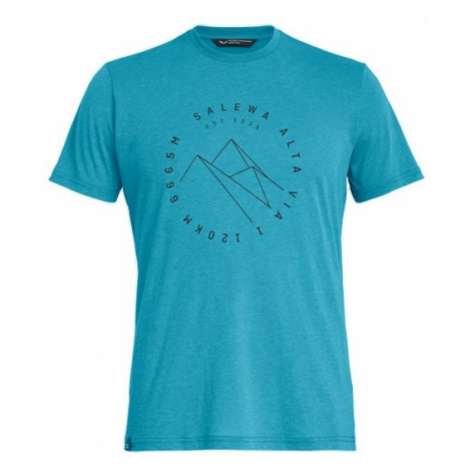 Salewa triko Alta Via Dri-Rel M S/S TEE, modrá