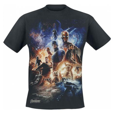 Avengers Endgame - Collage Tričko černá