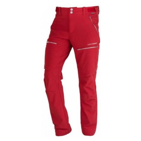Northfinder GUHIJAN červená - Pánské outdoorové kalhoty