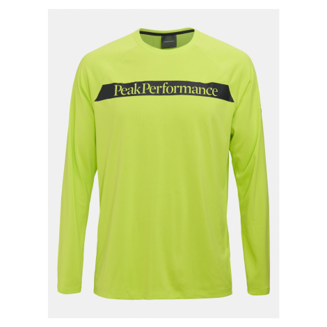 Tričko Peak Performance M Pro Co2 Long Sleeve - Zelená