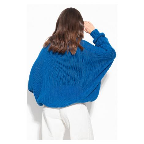 Dámský vlněný svetr oversize F1128 Fobya