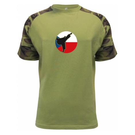 Karate CZ vlajka - Raglan Military