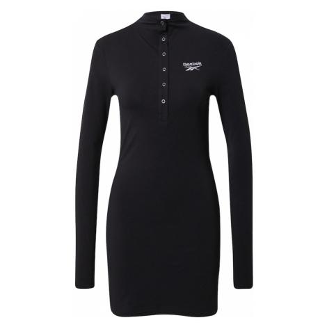 Reebok Classics Šaty 'CL WDE SLIM DRESS' černá