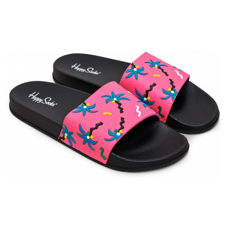 Pool Slider Confetti Palm Happy Socks