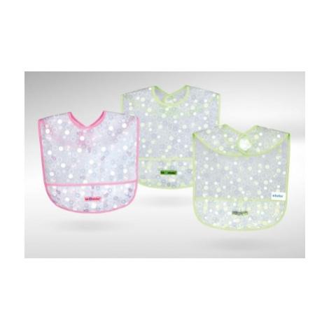Bryndáček Eva s kapsou akuku - Lvíček a bublinky růžový