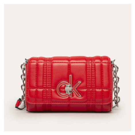 Calvin Klein dámská malá červená kabelka Flap