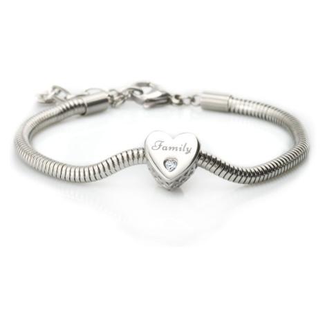 Linda's Jewelry Náramek Family Love Chirurgická ocel INR065