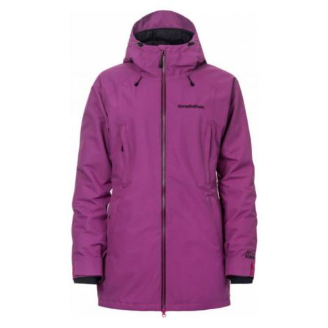Horsefeathers MAIKA JACKET fialová - Dámská lyžařská/snowboardová bunda