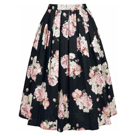 Banned Retro Plisovaná sukně English Rose Sukně vícebarevný