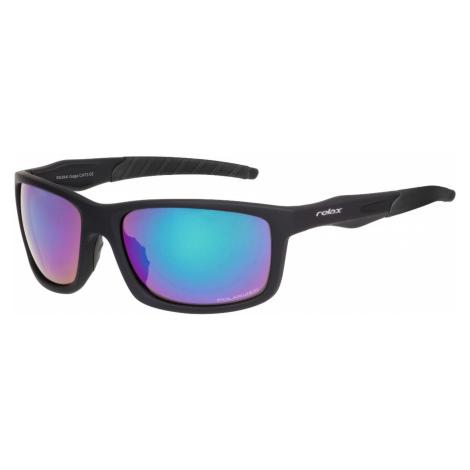 RELAX GAGA Sportovní brýle R5394I černá/šedá 48