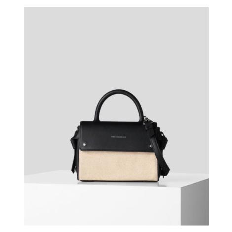 Kabelka Karl Lagerfeld K/Ikon Canvas Mini Top Handle
