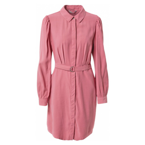 ONLY Košilové šaty 'SHORT DRESS PNT' růžová