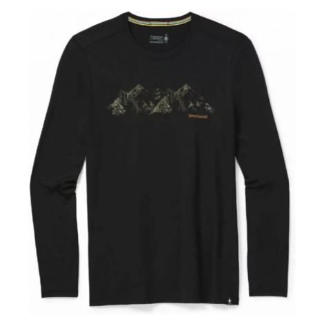 Pánské tričko Smartwool M Merino Sport 150 Upper Slopes black