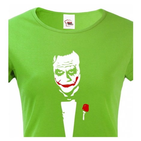 Dámské tričko Joker - superpadouch z DC komiksů na triku BezvaTriko