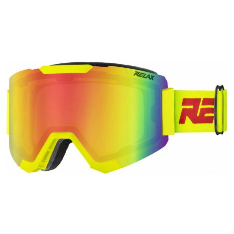 RELAX CONTEST Lyžařské brýle HTG68A žlutá L