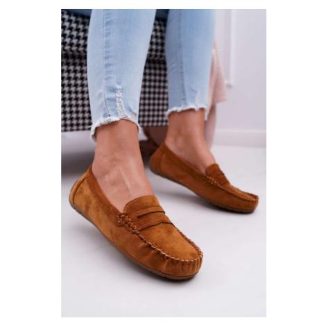 Women's Loafers Suede Camel Bolero Kesi