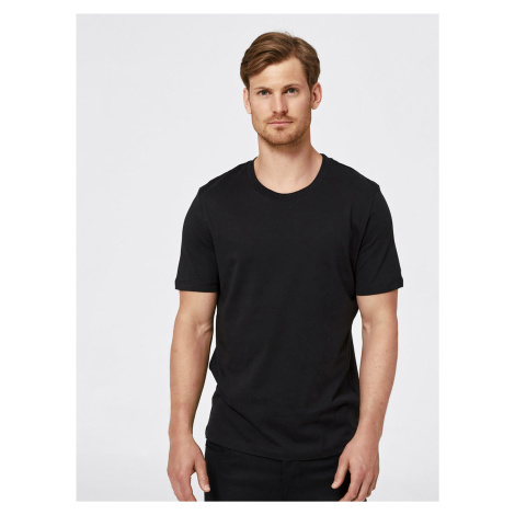 Černé basic tričko Selected Homme The Perfect
