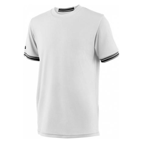 Dětské tričko Wilson Team Solid Crew White