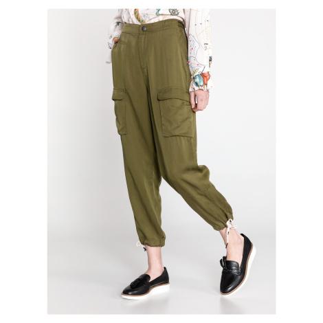 Kalhoty Scotch & Soda Zelená