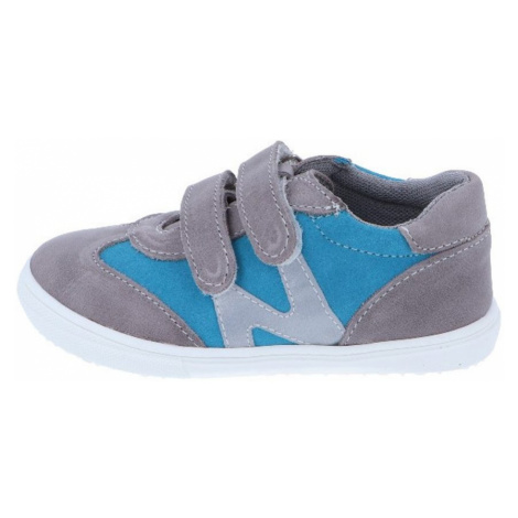 chlapecká celoroční obuv J053/M - modrá tyrkys, Jonap, tyrkys