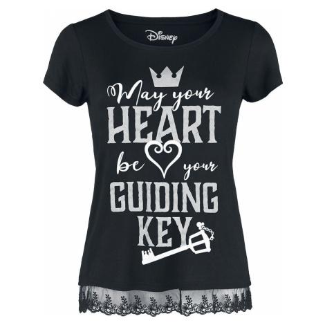 Kingdom Hearts Guiding Key Dámské tričko černá