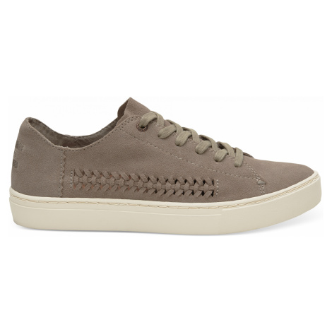 Desert Taupe Deconstructed Suede/Woven