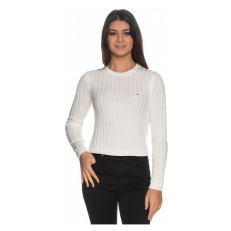 Tommy Hilfiger Tommy Jeans dámský bílý svetr