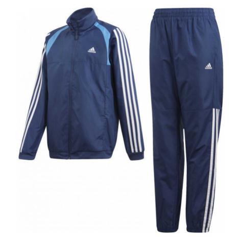 adidas JB WOVEN TS tmavě modrá - Chlapecká souprava