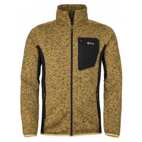 KILPI Pánský fleece svetr RIGAN-M JM0088KIYEL Žlutá