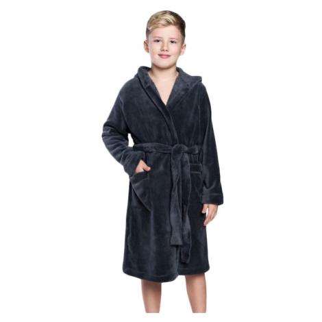 Chlapecký župan Mimas šedý Italian Fashion