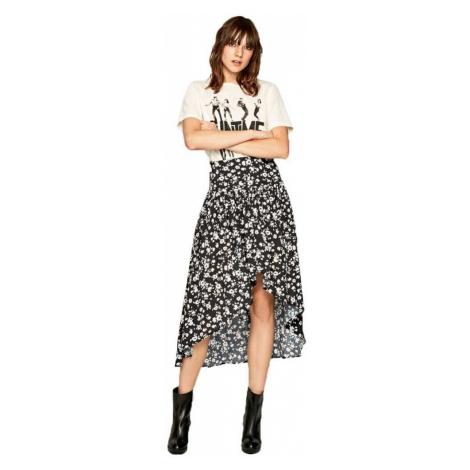 Pepe Jeans květovaná dlouhá sukně CATRINA