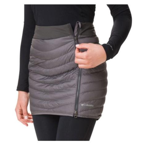 Columbia WINDGATES SKIRT tmavě šedá - Dámská sukně